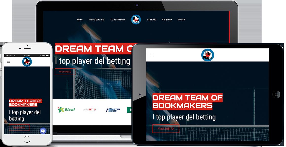 Realizzazione sito Internet Dream Team Of Bookmakers by QuoLAB, Web Agency Bologna