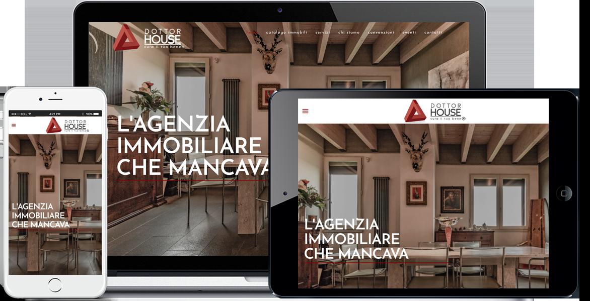 Realizzazione sito Internet DottorHouse Bologna by QuoLAB, Web Agency Bologna